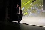 Caleb Ewan (AUS) introduced on stage at the Tour de France 2020 route presentation held in the Palais des Congrès de Paris (Porte Maillot), Paris, France. 15th October 2019.<br /> Picture: Eoin Clarke | Cyclefile<br /> <br /> All photos usage must carry mandatory copyright credit (© Cyclefile | Eoin Clarke)