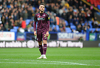 Matt Grimes of Swansea City during the Sky Bet Championship match between Bolton Wanderers and Swansea City at the Macron Stadium in Bolton, England, UK. Saturday 10 November 2018