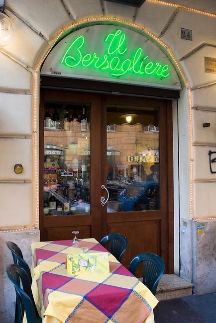 II Bersagliere Restaurant, Rome, Italy