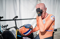 Jos van Emden (NED/Jumbo-Visma) post-finish<br /> <br /> Mixed Relay TTT <br /> Team Time Trial from Knokke-Heist to Bruges (44.5km)<br /> <br /> UCI Road World Championships - Flanders Belgium 2021<br /> <br /> ©kramon