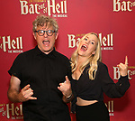 """Jay Scheib and Xena Gusthart during Jim Steinman's """"Bat Out of Hell - The Musical"""" - Open Rehearsal at New York City Center on July 30, 2019 in New York City."""