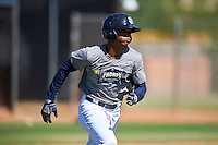 San Diego Padres Jeisson Rosario (53) during an Instructional League camp day on October 4, 2016 at the Peoria Sports Complex in Peoria, Arizona.  (Mike Janes/Four Seam Images)
