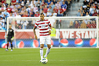 U.S midfielder Danny Williams (14) in action..USMNT defeated Guatemala 3-1 in World Cup qualifying play at LIVESTRONG Sporting Park, Kansas City, KS.