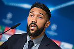 Manchester City defender Gaël Clichy during press conference before Champions League 2015/2016 Semi-Finals vs Real Madrid CF. in Madrid. May 03, 2016. (ALTERPHOTOS/Borja B.Hojas)