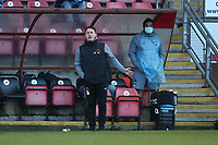 Leyton Orient manager Ross Embleton during Leyton Orient vs Crawley Town, Sky Bet EFL League 2 Football at The Breyer Group Stadium on 19th December 2020
