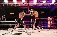 19th December 2020, Hamburg, Germany; Universal Boxing Promotion fight, Felix Sturm versus Timo Rost; Sturn with a left jab