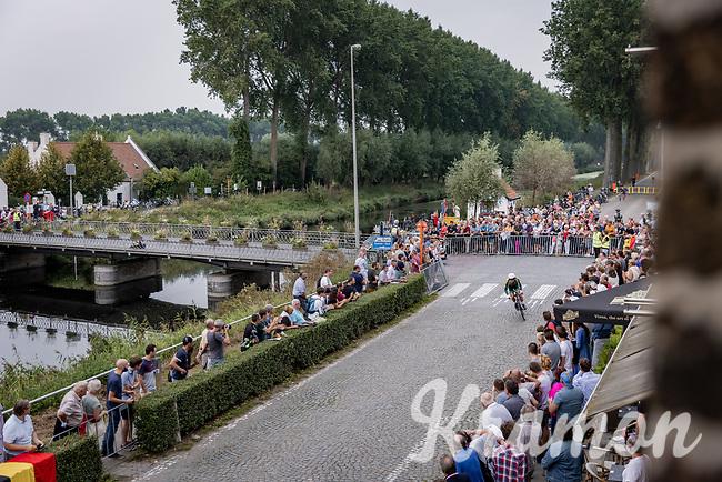 Ryan Gibbons (RSA/UAE-Team Emirates)<br /> <br /> 88th UCI Road World Championships 2021 – ITT (WC)<br /> Men's Elite Time trial from Knokke-Heist to Brugge (43.3km)<br /> <br /> ©Kramon