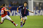 Shiori Kinoshita (JPN), .AUGUST 26, 2012 - Football / Soccer : .FIFA U-20 Women's World Cup Japan 2012, Group A .match between Japan 4-0 Switzerland .at National Stadium, Tokyo, Japan. .(Photo by Daiju Kitamura/AFLO SPORT) [1045]