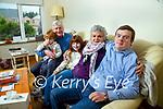 Brendan O'Sullivan, Listowel with his parents Bob and Grace, his nephew Bob and Niece Annie Grace.