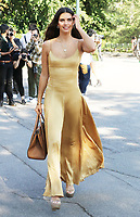 NEW YORK, NY- SEPTEMBER 10: Sara Sampaio  seen at the NYFW S/S 2022 Michael Kors fashion show at Tavern On The Green in New York City on September 10, 2021. Credit: RW/MediaPunch<br /> CAP/MPI/RW<br /> ©RW/MPI/Capital Pictures