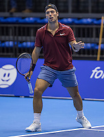 Rotterdam, Netherlands, December 13, 2016, Topsportcentrum, Lotto NK Tennis,   Tim van Terheijden (NED)<br /> Photo: Tennisimages/Henk Koster
