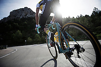 Maarten Wynants (BEL/LottoNL-Jumbo) training full-on up Coll de Rates (Alicante, Spain)<br /> <br /> January 2016 Training Camps