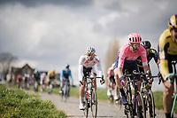 Taylor Phinney (USA/EF Education First)<br /> <br /> 74th Dwars door Vlaanderen 2019 (1.UWT)<br /> One day race from Roeselare to Waregem (BEL/183km)<br /> <br /> ©kramon