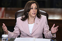 JUL 14 Kamala Harris meets with disabilities advocates at the White House