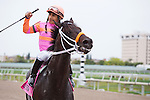 March 28, 2015: PAnts on Fire and Paco Lopez after winning the Sir Shackleton Stakes at Gulfstream Park, Hallandale Beach (FL). Arron Haggart/ESW/CSM
