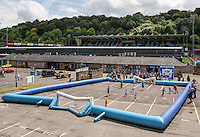 General view during the Wycombe Wanderers 2016/17 Kit launch to the Public at Adams Park, High Wycombe, England on 10 July 2016. Photo by Andy Rowland.
