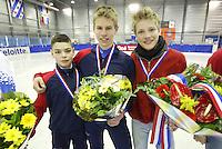 SHORTTRACK: GRONINGEN: 28-03-2004, NK Shorttrack Jongens Junioren C, Sjinkie Knegt, ©foto Martin de Jong