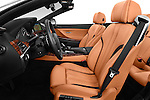 Front seat view of 2015 BMW 6 Series 640i 2 Door Convertible Front Seat car photos