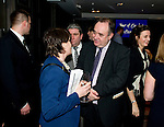***Free use courtesy of Scottish Government***.First Minister Alex Salmond and movie writer Mark Millar talk box office at the Glasgow Film Festival. .Kenny Smith, 6 Bluebell Grove, Kelty, Fife, KY4 0GX .Tel 07809 450119,