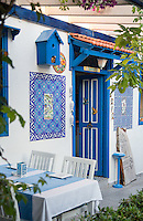 Restaurant in the old town of Kas, Turkey
