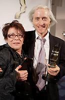 Montreal (Qc) CANADA, September 9, 2007 -<br /> Louise Forestier,Emmanuel Bilodeau,<br /> Gala des Gemeaux, Palais des Congres de Montreal.<br /> <br /> photo : Pierre Roussel (c)