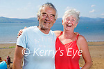 Enjoying the sun in Fenit on Tuesday, l to r: David Magnier and Helena Shanahan from Tralee.