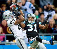 The Carolina Panthers vs. the Oakland Raiders at Bank of America Stadium in Charlotte, North Carolina.Photos by: Patrick Schneider Photo.com