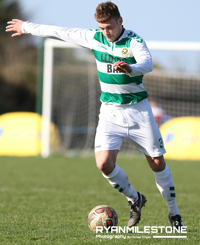 FAI Junior Cup Quarter Final.<br /> Peake Villa v Sheriff YC<br /> Tower Grounds,<br /> Thurles, Co Tipperary<br /> Sunday 12th March 2017<br /> Joseph O' Nell (Sheriff YC)<br /> Photo Credit: Michael P Ryan