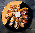 Assorted Appetizers, Gordon Biersch Restaurant, Miami, Florida