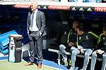 Real Madrid's coach Zinedine Zidane during La Liga match. April 09, 2016. (ALTERPHOTOS/Borja B.Hojas)