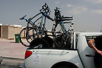Sky Procycling team car in Qatar before the start of the 1st Stage of the 2012 Tour of Qatar running from Umm Slal Mohammed to Doha Golf Club, Doha, Qatar, 5th February 2012 (Photo Eoin Clarke/Newsfile)