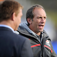 Brendan Venter, Saracens Technical Director, before the Sanlam Private Investments Shield match between Saracens and the Cell C Sharks at Allianz Park on Saturday 25th January 2014 (Photo by Rob Munro)