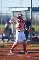 Ryan Mize (54), from Lakewood, California, while playing for the Brewers during the Under Armour Baseball Factory Recruiting Classic at Red Mountain Baseball Complex on December 29, 2017 in Mesa, Arizona. (Zachary Lucy/Four Seam Images)