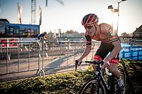 Pim Ronhaar (NED/Pauwels Sauzen-Bingoal)<br /> 2020 Urban Cross Kortrijk (BEL)<br /> <br /> ©kramon