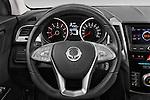 Car pictures of steering wheel view of a 2015 Ssangyong Tivoli Quartz 5 Door Suv Steering Wheel