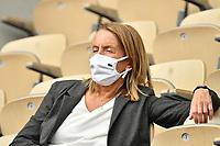 8th October 2020, Roland Garros, Paris, France; French Open tennis, Roland Garros 2020;  Isabelle Demongeot  - France