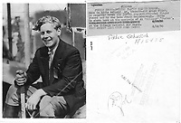 Eddie August Schneider on August 28, 1930 in Chicago, Illinois at the controls of Al Williams' pusher aircraft.