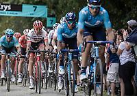 Bauke Mollema (NED/Trek Segafredo) in the peloton. <br /> <br /> Stage 9: Arras Citadelle > Roubaix (154km)<br /> <br /> 105th Tour de France 2018<br /> ©kramon