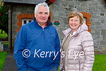 Enjoying a stroll in the Listowel town park on Friday, l to r: Mike Flaherty and Brenda Enright.
