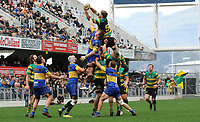 Woody Kirkwood of Green Island during the Dunedin Premier club rugby final between Green Island and Taieri played at Forsyth Barr Stadium in Dunedin, on Saturday 31st July, 2021. © John Caswell/Caswell Images