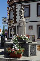 Kriegerdenkmal in Wenigumstadt im Kreis Aschaffenburg, Bayern, Deutschland