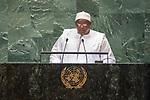 DSG meeting<br /> <br /> AM Plenary General DebateHis<br /> <br /> His Excellency Adama BARROW President of the Republic of The Gambia