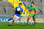 Tony Brosnan, Kerry in action against Brendan McCole, Donegal during the Allianz Football League Division 1 Round 7 match between Kerry and Donegal at Austin Stack Park in Tralee on Saturday.