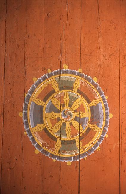 Door Detail, Takar Dzong, Bhutan