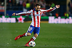 Atletico de Madrid´s Juanfran during the UEFA Champions League round of 16 second leg match between Atletico de Madrid and Bayer 04 Leverkusen at Vicente Calderon stadium in Madrid, Spain. March 17, 2015. (ALTERPHOTOS/Victor Blanco)