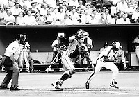 FILE PHOTO  - Montreal Expos inaugural match of the 1987 season, at the Olympic Stadium, April 20, 1987.