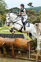 NZL-Eloise Stevenson (GUARANA): AON INSURANCE NZ CNC105 AMATEUR: 2014 AESI Fiber Fresh New Year Horse Trial at Woodhill Sands (Sunday 26 January) CREDIT: Libby Law COPYRIGHT: LIBBY LAW PHOTOGRAPHY - NZL