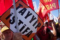 manifestazione 9 giugno Taksim