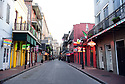 Corona Virus shuts down New Orleans