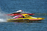 """Joe Sovie, A-23 """"Geezerboat"""" and Andrew Tate, A-25 """"Fat Chance"""" (2.5 MOD class hydroplane(s)"""
